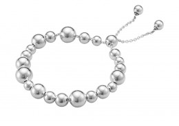 Georg Jensen Sterling Silver Moonlight Grapes Bracelet