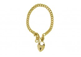 Pre-owned 9ct & 15ct Gold Charm Bracelet